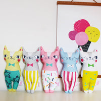 Confetti Cats Pink Cat