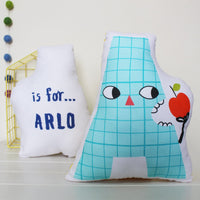 Personalised Happy Alphabet Cushion