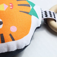 Tiger Rattle Teether