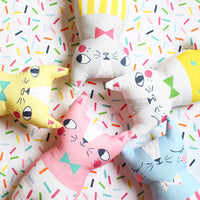 Confetti Cats Blue Cat