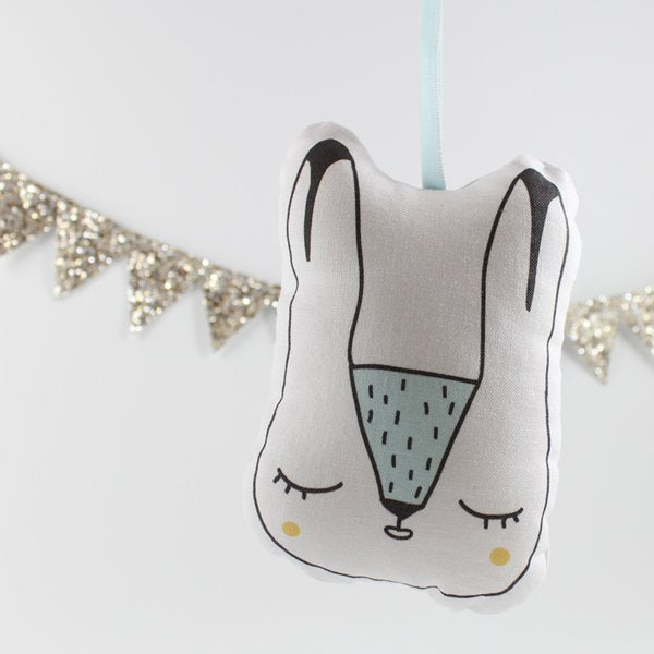 Personalised Arctic Hare Decoration