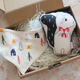 Forest Friends Bib Gift Box