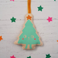 Screen Printed Christmas Decoration