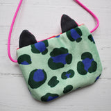 Velvet Leopard Mini Bag
