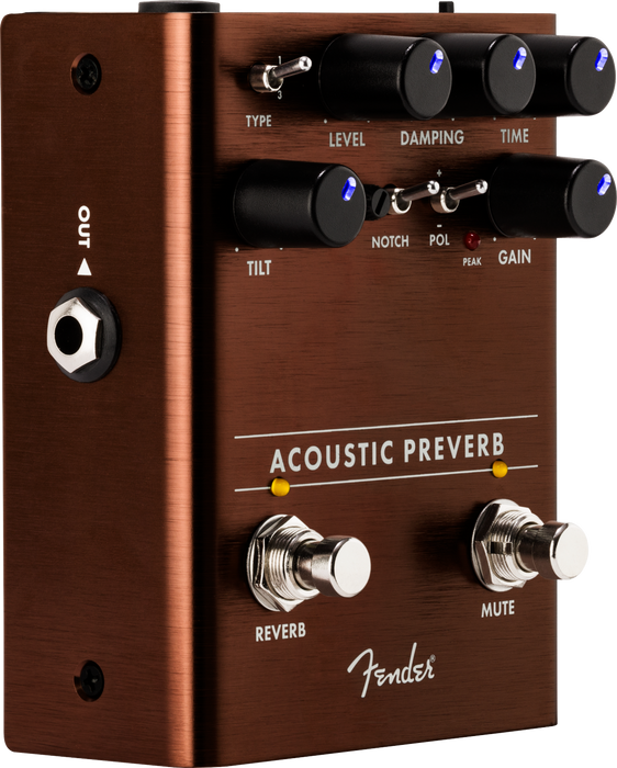 Fender Acoustic Preverb Pedal  -  Preamp/Reverb