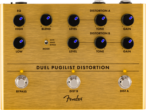 Fender Duel Pugilist Distortion Pedal