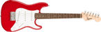 Fender Squier Mini Stratocaster®, Laurel Fingerboard, Red