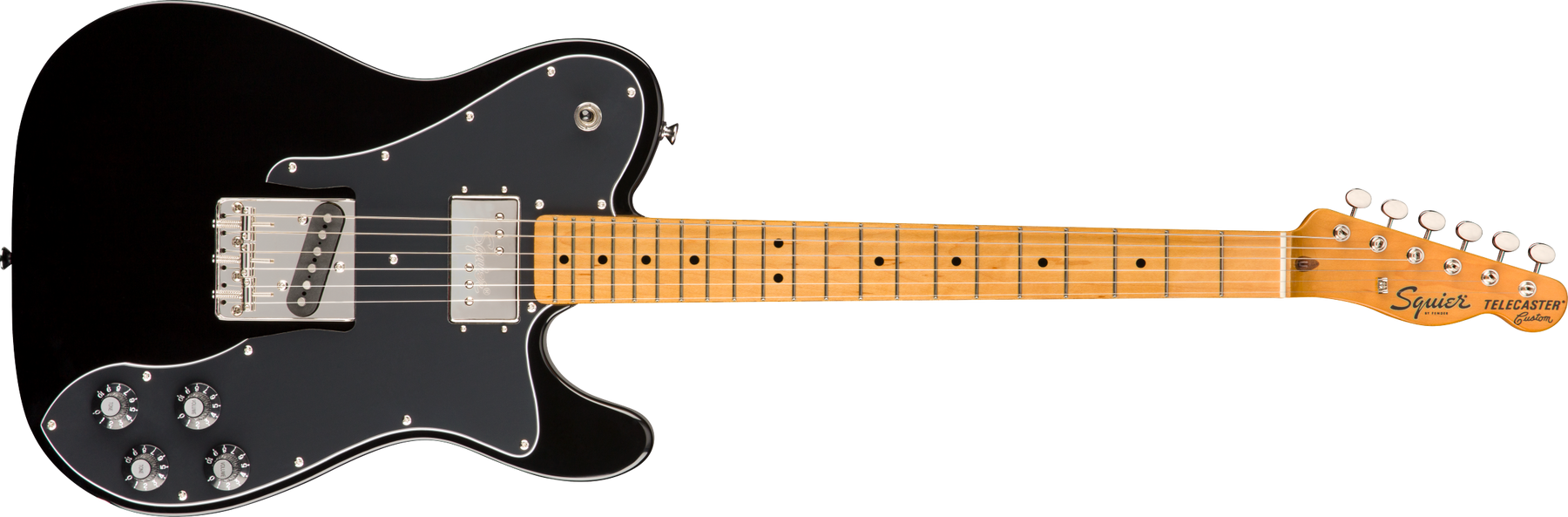 Fender Squier Classic Vibe '70s Telecaster® Custom, Maple Fingerboard, Black