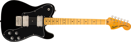 Fender Squier Classic Vibe '70s Telecaster® Deluxe, Maple Fingerboard, Black