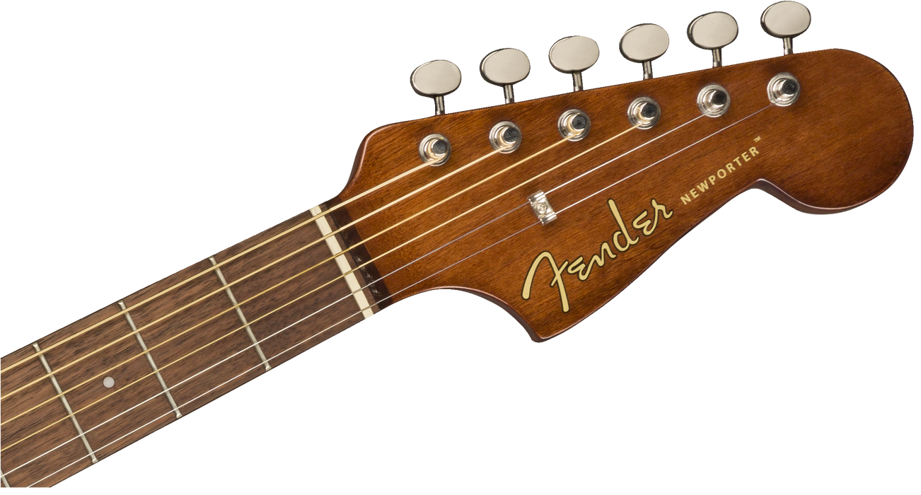 Fender Electro Acoustic Newporter Player, Walnut Fingerboard, Natural