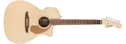 Fender Newporter Player, Acoustic Guitar Walnut Fingerboard, Champagne