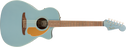 Fender Newporter Player, Acoustic Guitar Walnut Fingerboard, Ice Blue Satin
