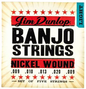 Dunlop DJN0920 Banjo Strings Nickel Light