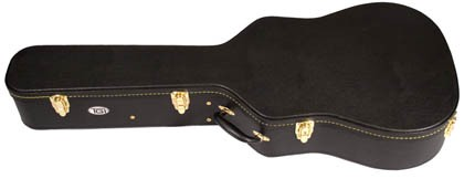TGI CASE WOOD ELECTRIC 335 STYLE GUITAR - Semi Acoustic