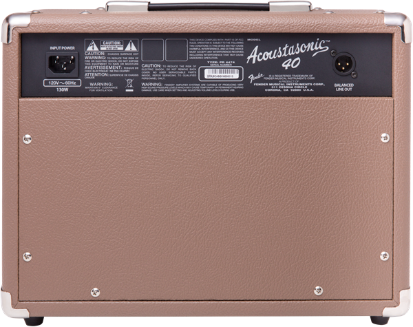 Fender Acoustasonic™ 40, Acoustic Guitar Combo 230V UK