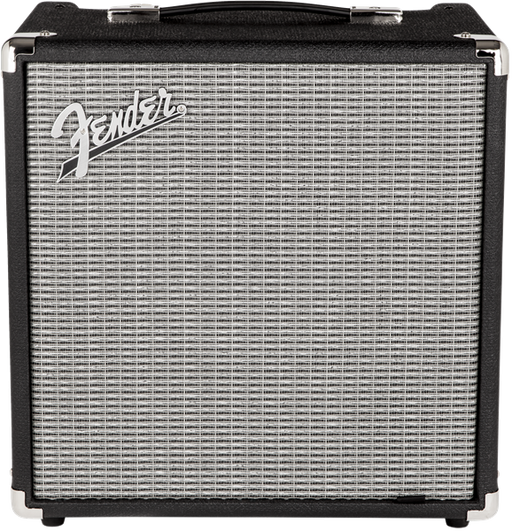 Fender Rumble™ 25 (V3), 230V EUR, Black/Silver