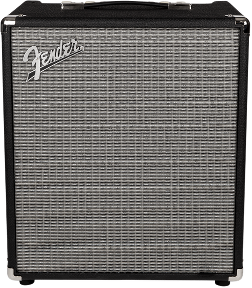 Fender Rumble™ 100 Bass Amplifier (V3), 230V EUR, Black/Silver