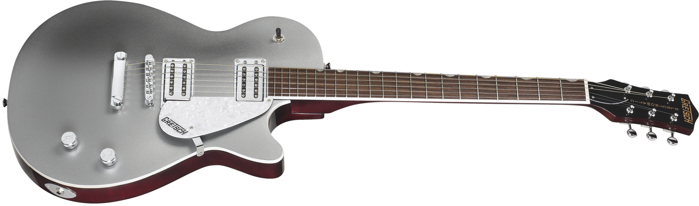 Gretsch G5426 Electromatic® Jet Club, Rosewood Fingerboard, Silver