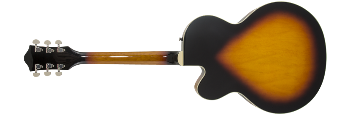 G2420 Streamliner™ Hollow Body With Chromatic II, Laurel Fingerboard, Broad'tron™ Pickups, Aged Brooklyn Burst