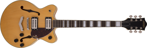 G2655 Streamliner™ Center Block Jr. with V-Stoptail, Laurel Fingerboard, Broad'Tron™ BT-2S Pickups, Village Amber