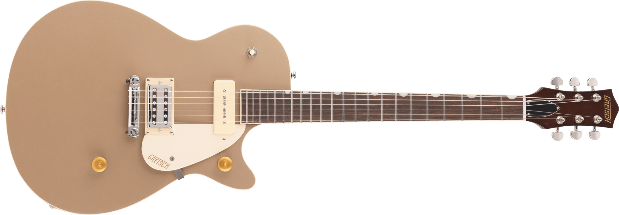 G2215-P90 Streamliner™ Junior Jet™ Club, Laurel Fingerboard, Sahara Metallic