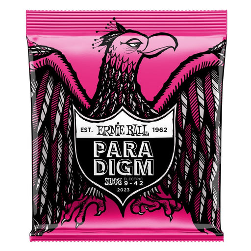 SUPER SLINKY PARADIGM ELECTRIC GUITAR STRINGS - 9-42 GAUGE