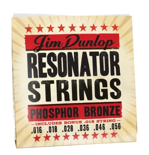 Dunlop DOP1656 Resonator Phosphor Strings