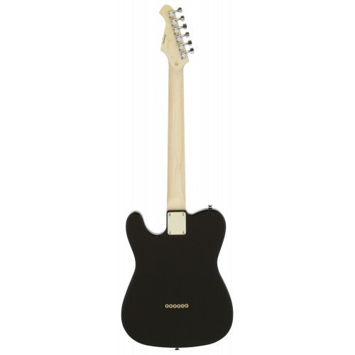 Aria 615 Frontier T Style Electric Guitar - Black
