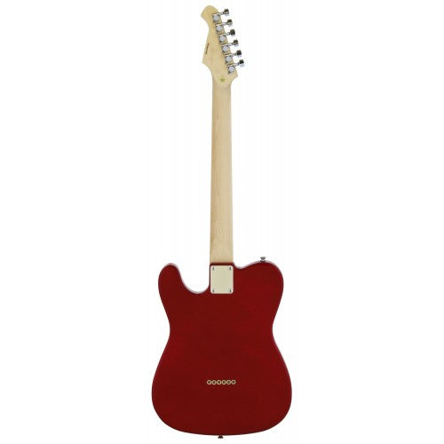 Aria 615 Frontier T Style Electric Guitar - Candy Apple Red