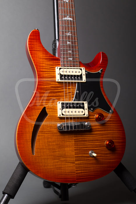 2012 PRS SE Custom Semi-Hollow Vintage Sunburst