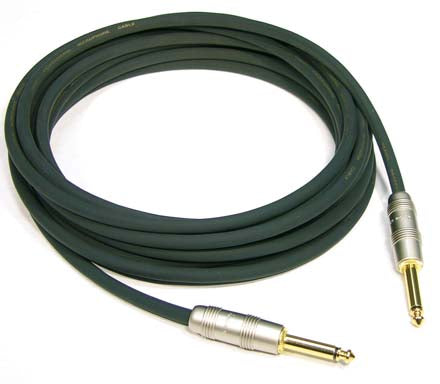 Kirlin 3ft Instrument Cable/ Patch Cable - Straight Jack