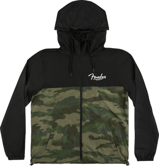Fender® Windbreaker, Camo and Black