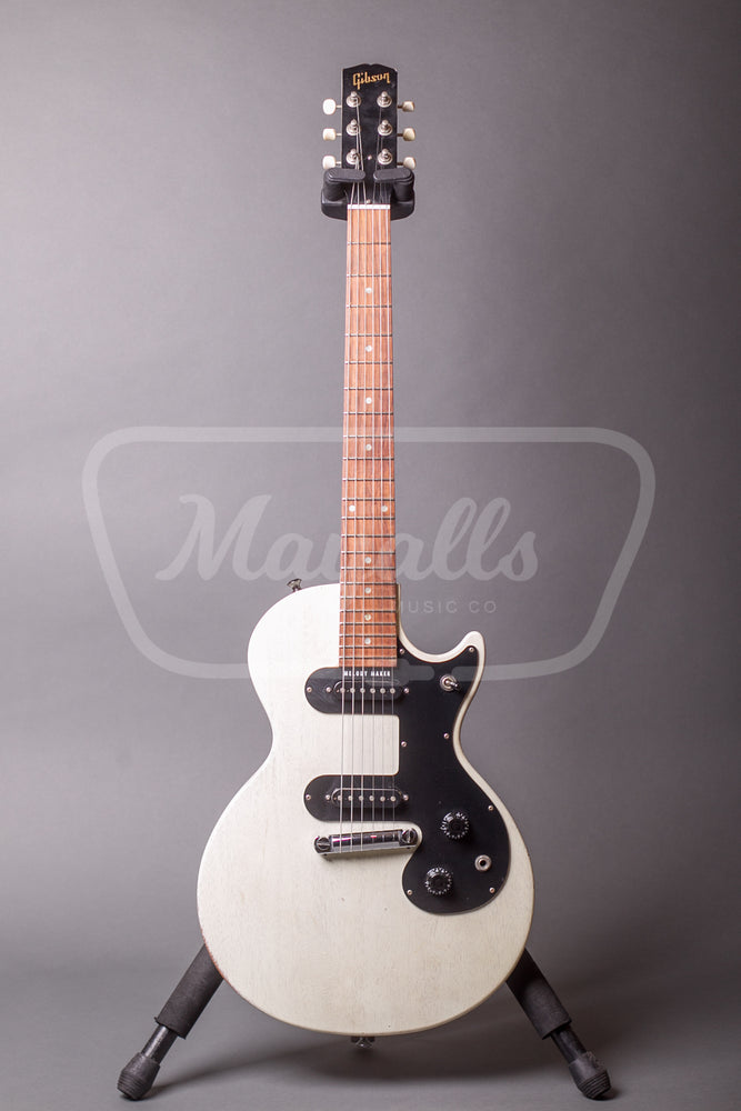 2007 Gibson Melody Maker 59 Re Issue Twin Pickup White Mayall S Music Co