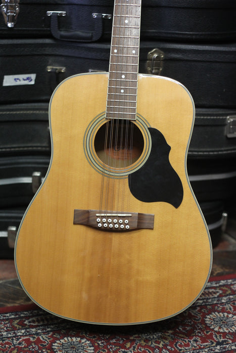 Crafter 12 String Electro-Acoustic Guitar - Pre-owned