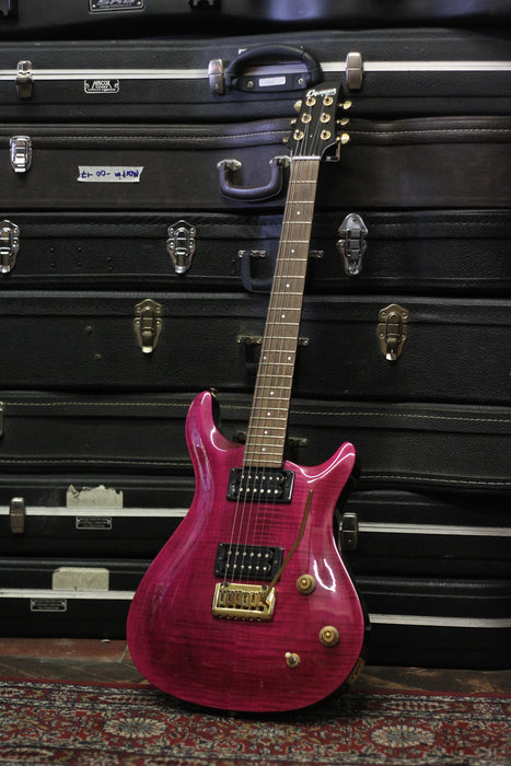 Cruiser by Crafter Purple Electric Guitar - Pre-owned