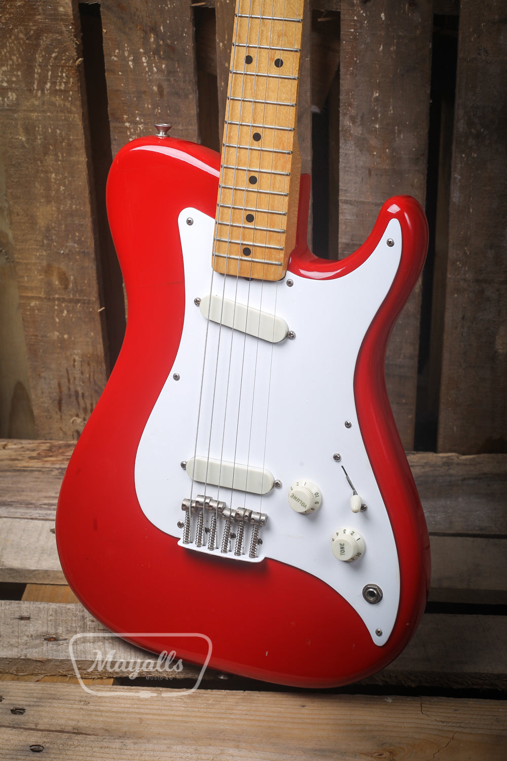 1981 Fender Bullet USA Red Electric Guitar - Pre-owned