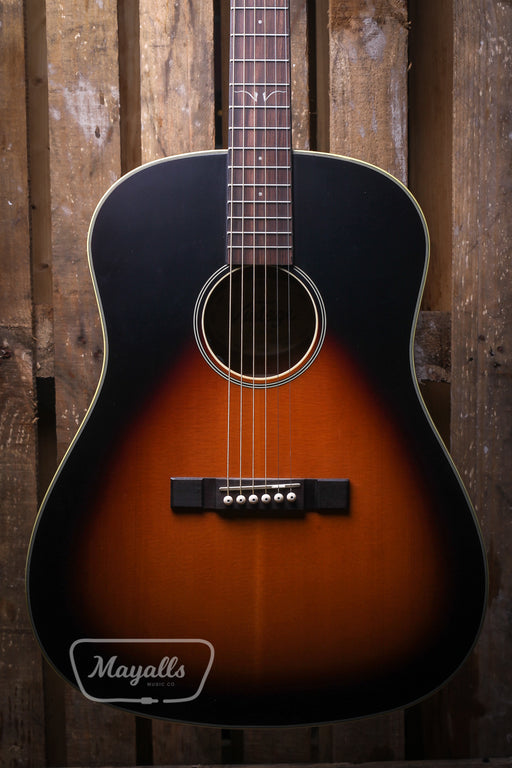 Vintage Electro Acoustic Guitar VE660 Sunburst - *Pro Setup by us! Fishman Electronics