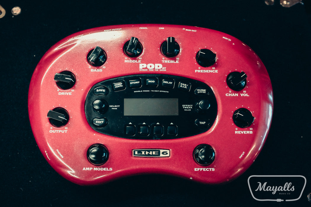 Line 6 Pod XT Digital Guitar Effects Pedal