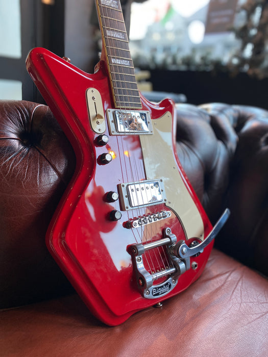 2006 Eastwood Airline '59 2 Pickup w/ Aftermarket Bigsby & Hard Case