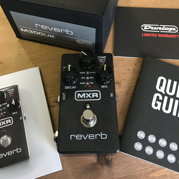 MXR Reverb Pedal M300 - Pre-owned