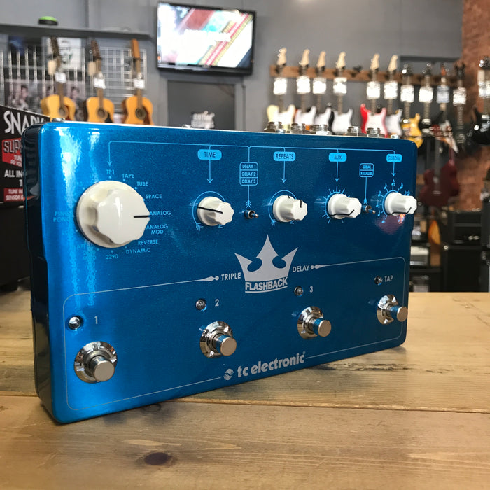 TC Electronic Flashback Triple Delay Guitar Effect Pedal - Pre-owned