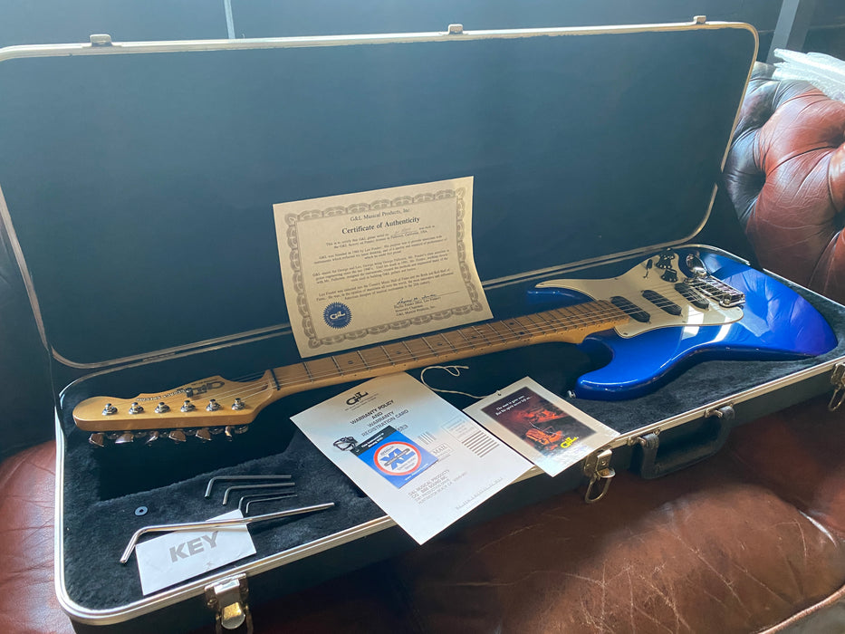 2008 G&L USA Legacy Special Blue w/Original Case & Paperwork