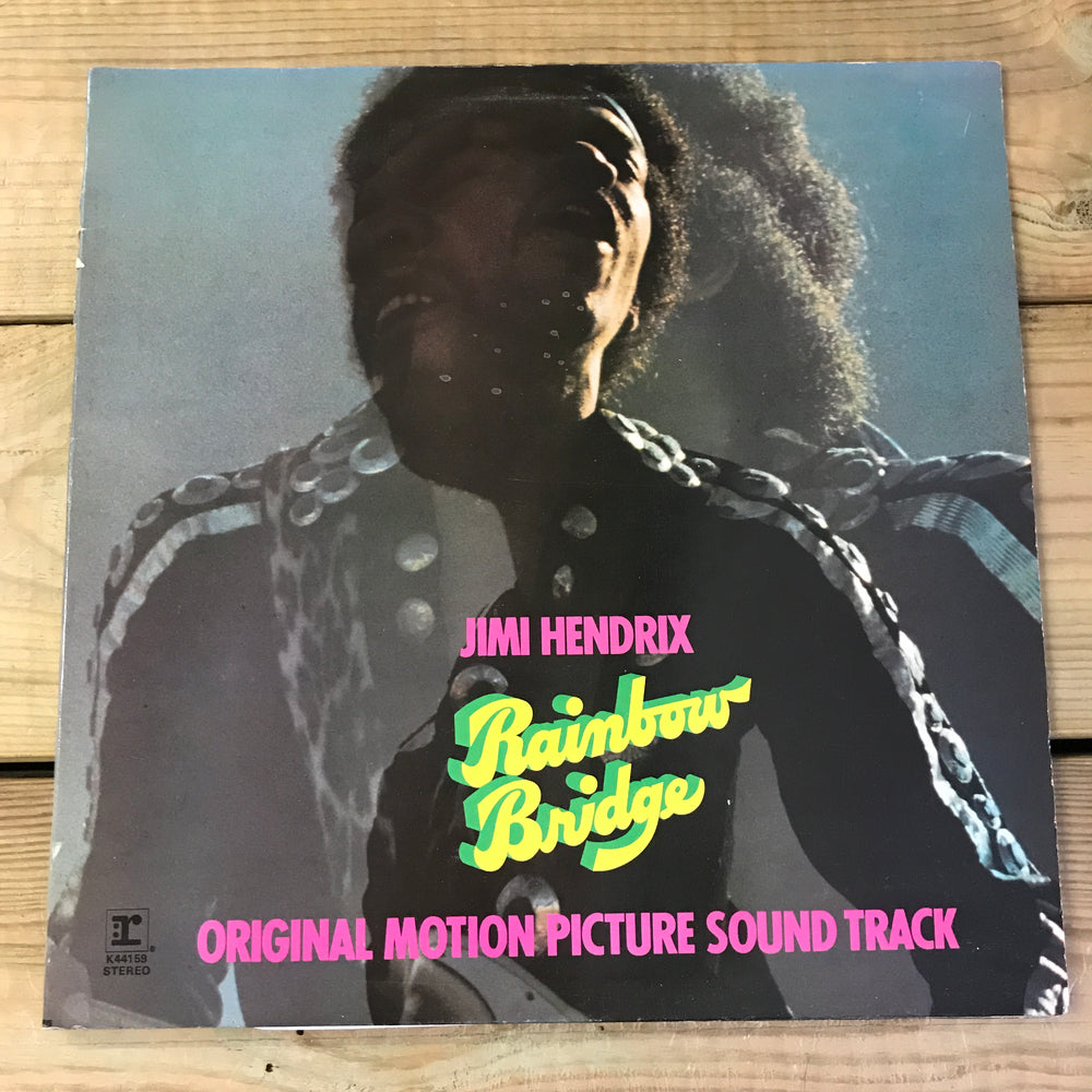Jimi Hendrix Rainbow Bridge Album Vinyl Record - Pre-owned
