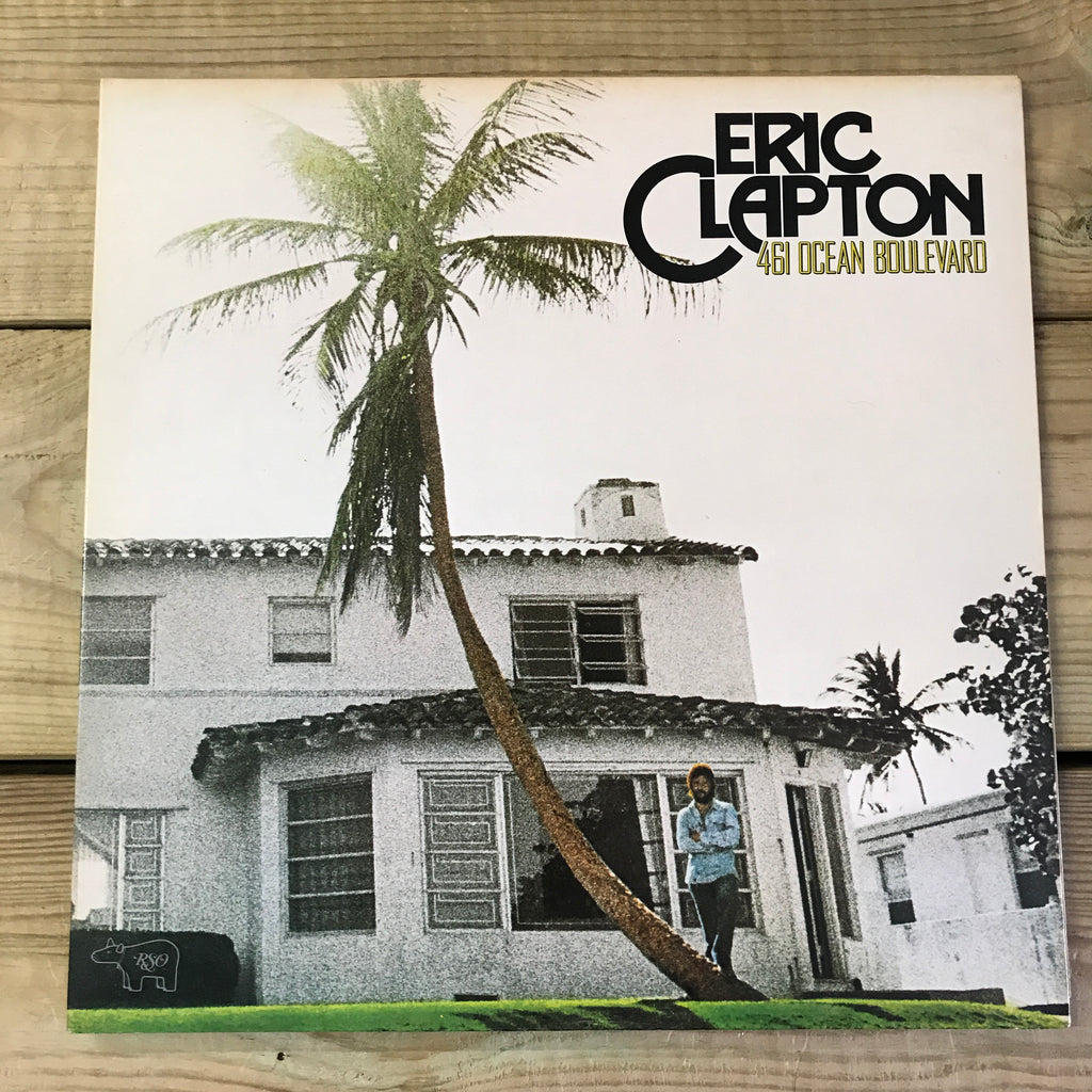 Eric Clapton 461 Ocean Boulevard Vinyl Record - Pre-owned