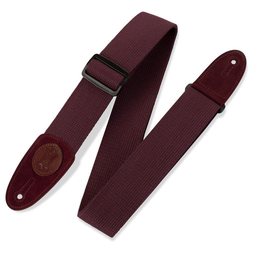 Levy's Guitar Strap - Burgandy