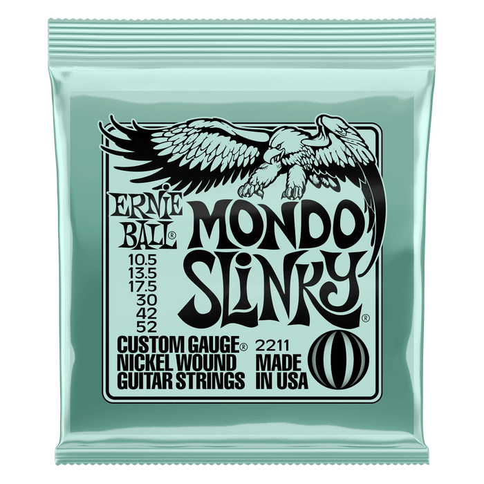 Ernie Ball Mondo Slinky Electric Guitar Strings 10.5-52