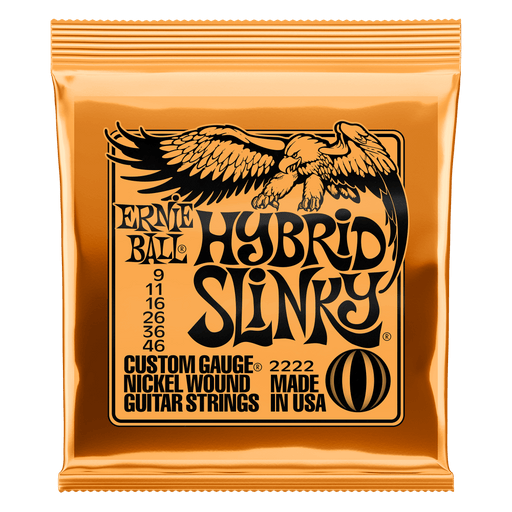 Ernie Ball Hybrid Slinky Electric Guitar Strings 9-46