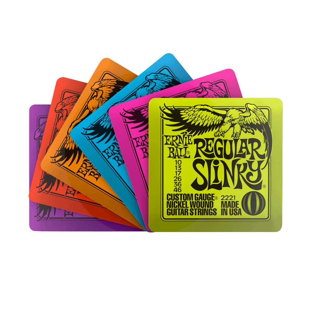 ERNIE BALL SLINKY COASTERS 6 PACK - Great Gift Idea!