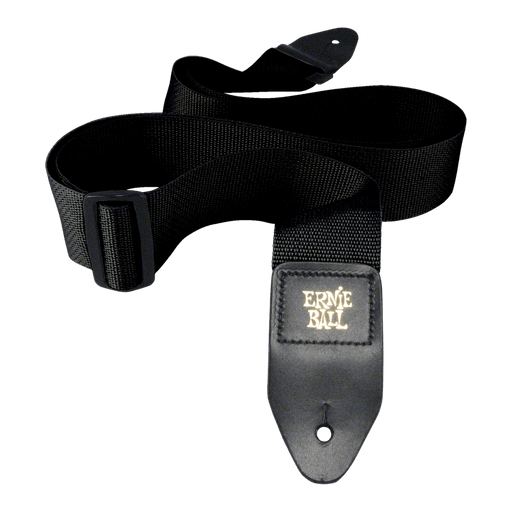 BLACK POLYPRO GUITAR STRAP - Black