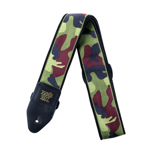 ERNIE BALL - TRADITIONAL CAMO GUITAR STRAP